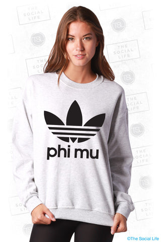 Phi Mu Athletic Crewneck