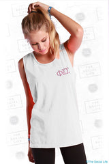 Phi Sigma Sigma State of Mind Pocket Tee