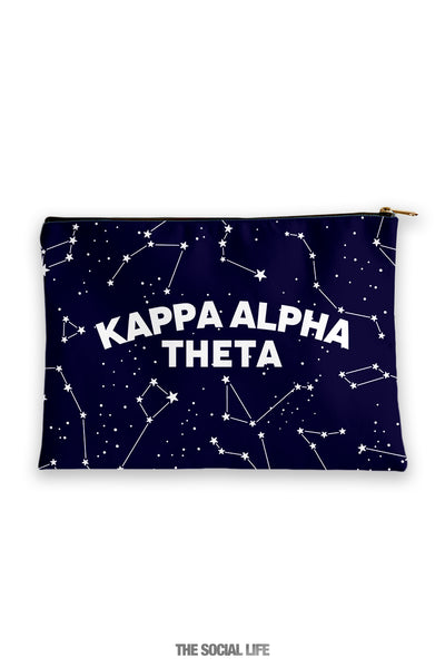 Kappa Alpha Theta Constellation Cosmetic Bag