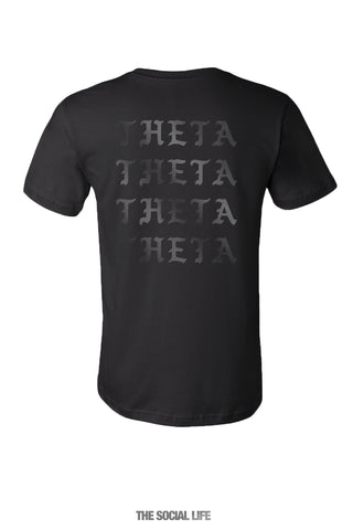 Kappa Alpha Theta I Feel Like Pocket Tee