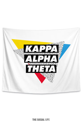 Kappa Alpha Theta Graphy Tapestry