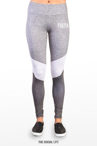 Kappa Alpha Theta Graphite Leggings