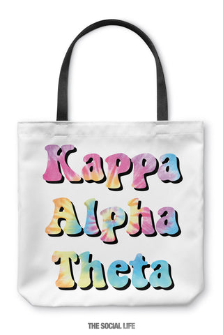 Kappa Alpha Theta Hippie Tote Bag