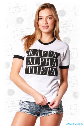 Kappa Alpha Theta Box Shirt