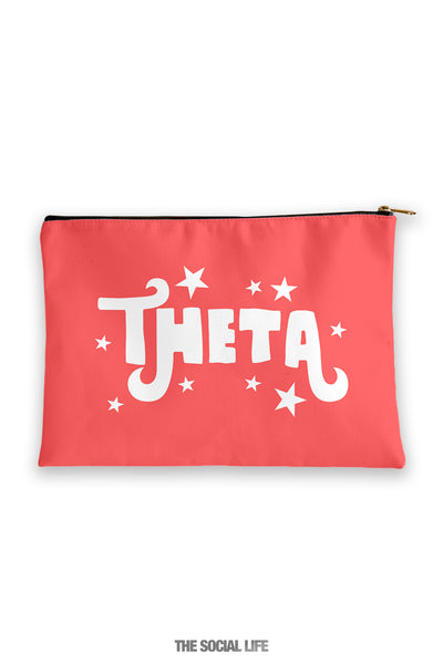 Kappa Alpha Theta Pixie Cosmetic Bag