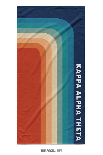 Kappa Alpha Theta Far Out Towel