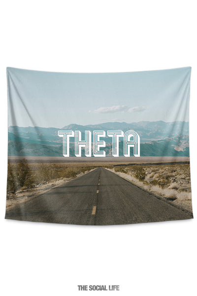 Kappa Alpha Theta Roadtrip Tapestry