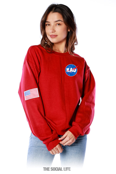 Kappa Alpha Theta Space Explorer Crewneck