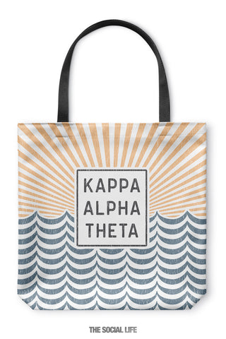 Kappa Alpha Theta Sunshine Tote Bag