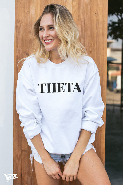 Kappa Alpha Theta Vogue Crewneck