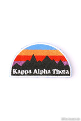 Kappa Alpha Theta Mountains Peel-n-Stick Badge