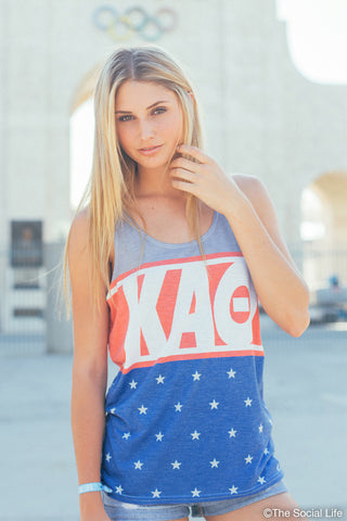 Kappa Alpha Theta Team USA Tank
