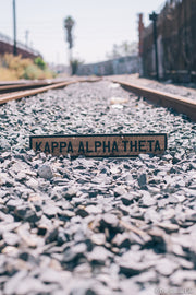 Kappa Alpha Theta Vintage Sign