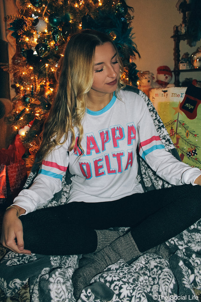Kappa Delta Frosted Long Sleeve
