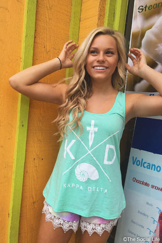 KD Flowy Scoop Neck Tank
