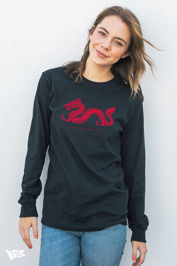 Kappa Delta Dragon Long Sleeve