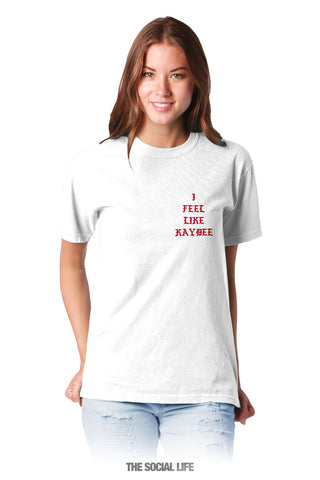 Kappa Delta Feel Like Tee
