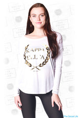 Kappa Delta Gold Wreath Long Sleeve
