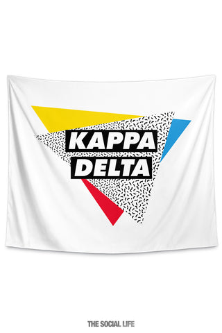Kappa Delta Graphy Tapestry