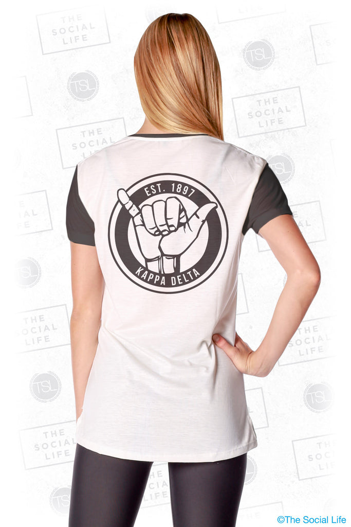 Kappa Delta Hang Loose Scoop Tee