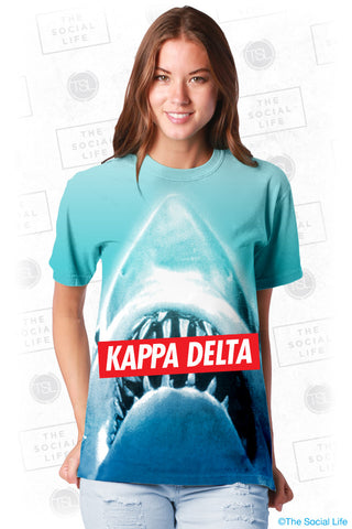 Kappa Delta Sharky Top
