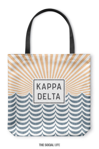 Kappa Delta Sunshine Tote Bag
