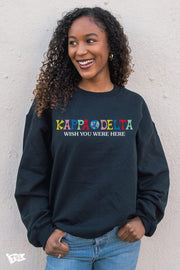 Kappa Delta Wish You Were Here Crewneck