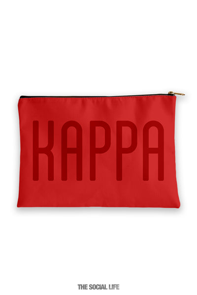 Kappa Kappa Gamma Primary Cosmetic Pouch