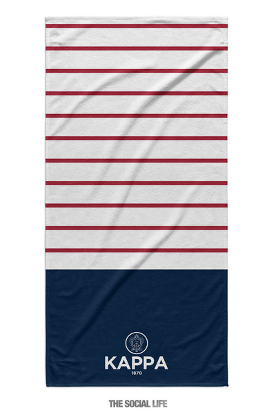 Kappa Kappa Gamma Sailor Striped Towel