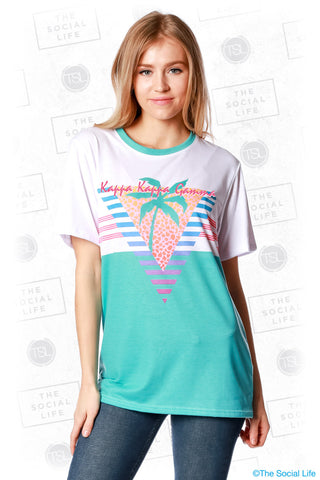 Kappa Kappa Gamma South Beach Tee