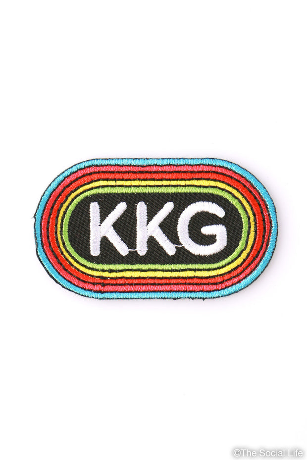 Kappa Kappa Gamma Rainbow Peel-n-Stick Badge