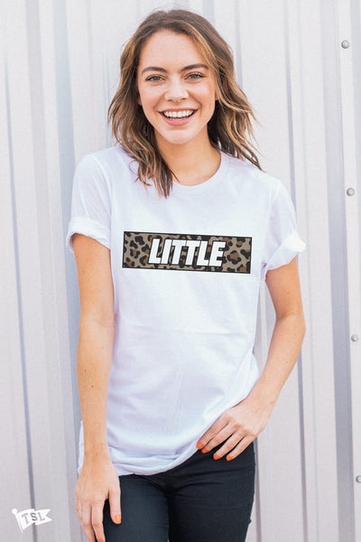 Little's Leopard Tee