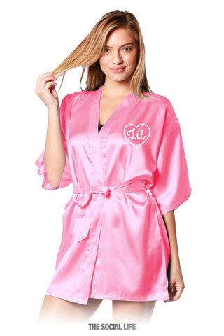 Little Silky Robe