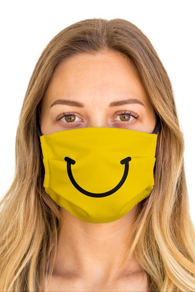 Happy Face Mask (Anti-Microbial)