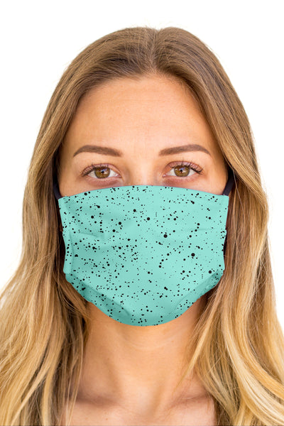Splatter Mint Face Mask (Anti-Microbial)