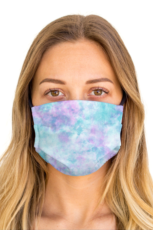 Tie Dye Candy Face Mask (Anti-Microbial)