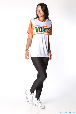 Miami Gameday Jersey Tee