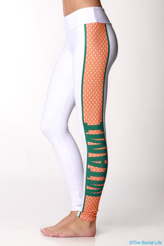 Miami Gameday Leggings