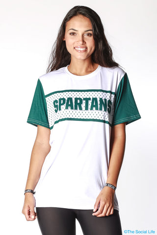 Michigan State Gameday Jersey Tee