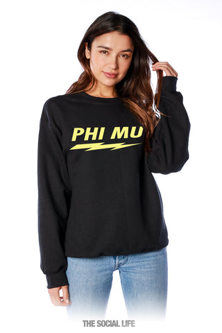 Phi Mu Voltage Crewneck