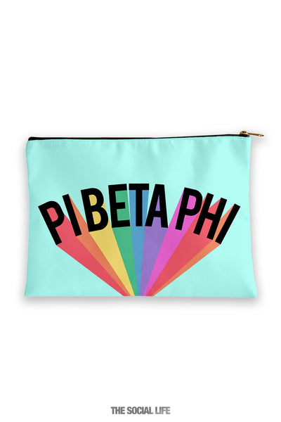 Pi Beta Phi Colorblast Cosmetic Bag