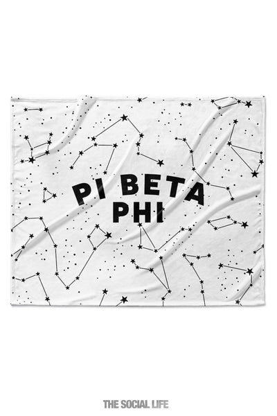 Pi Beta Phi Constellation Blanket
