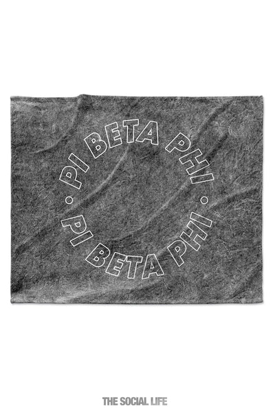 Pi Beta Phi Mineral Wash Blanket