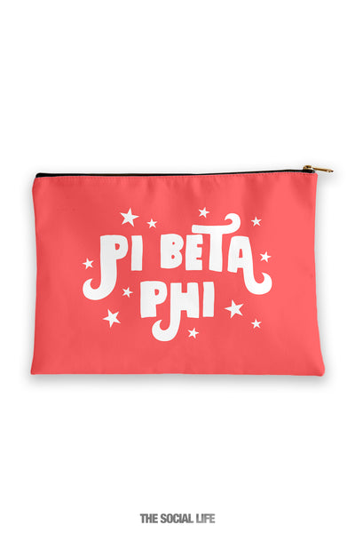 Pi Beta Phi Pixie Cosmetic Bag