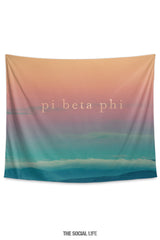 Pi Beta Phi Sunset Tapestry