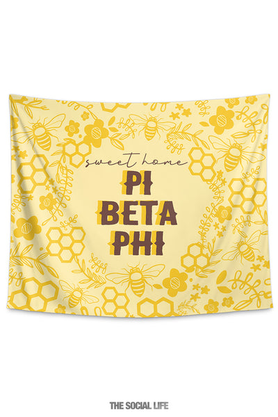Pi Beta Phi Sweet Home Tapestry