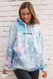 Pi Beta Phi Simple Digi-Tie Dye Hoodie