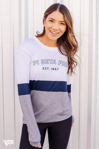 Pi Beta Phi Elon Long Sleeve