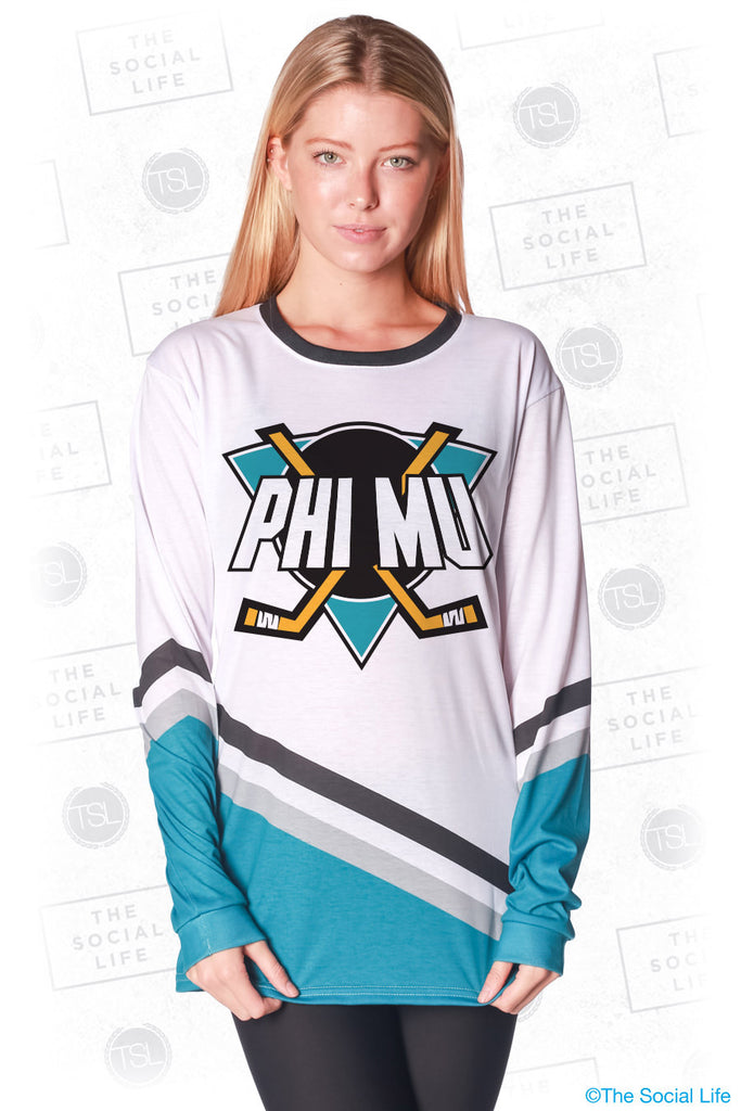 Phi Mu Mighty Hockey Long Sleeve