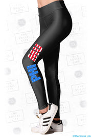 Phi Mu USA Leggings